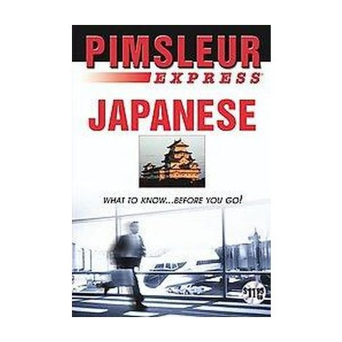 Pimsleur Express - Japanese (Mixed media product)