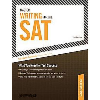Peterson's Master Writing for the SAT (Paperback)