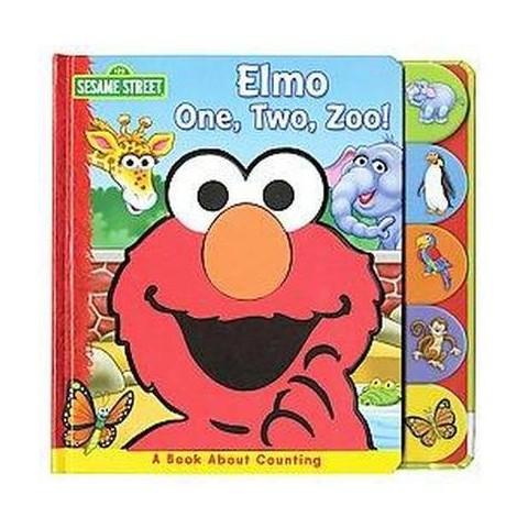 Elmo One, Two, Zoo! (Board)