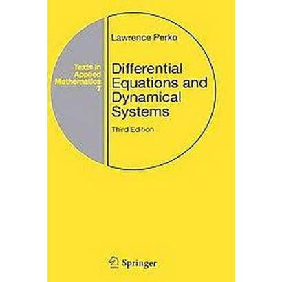 Differential Equations and Dynamical Systems (Subsequent) (Hardcover)