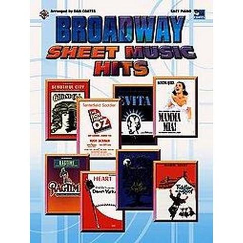 Broadway Sheet Music Hits (Paperback)