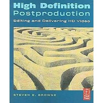 High Definition Postproduction (Paperback)