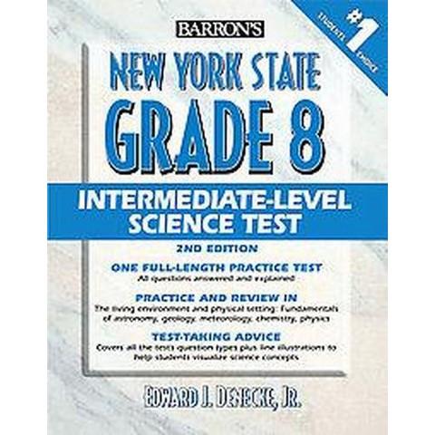 Barron's New York State Grade 8 Intermediate Level Science Test (Paperback)