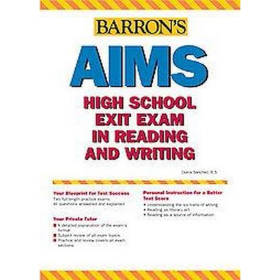 Barron's Aims High School Exit Exam in Reading And Writing (Paperback)