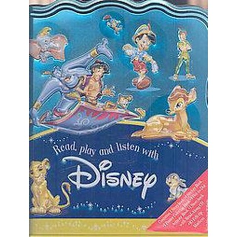 Read, Play and Listen With Disney Activity Tin (Hardcover)