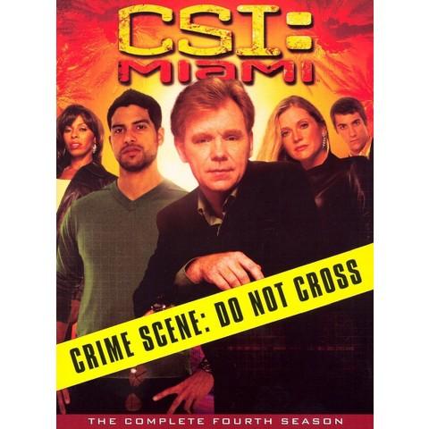 CSI: Miami - The Complete Fourth Season (7 Discs) (Widescreen)