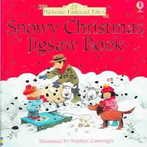 Snowy Christmas Jigsaw Book (Board)