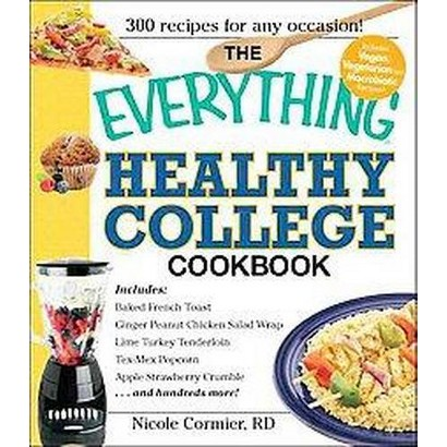 The Everything Healthy College Cookbook (Paperback)