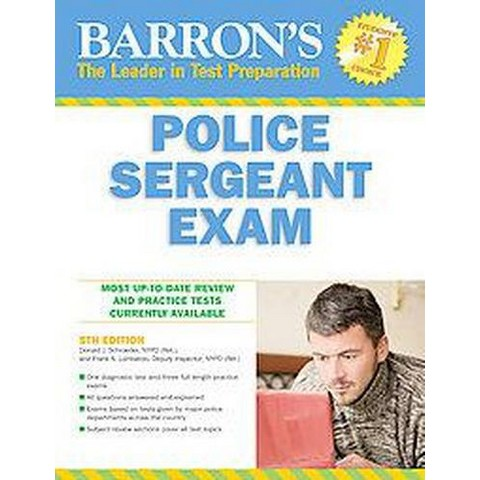 Barron's Police Sergeant Exam (Revised) (Paperback)