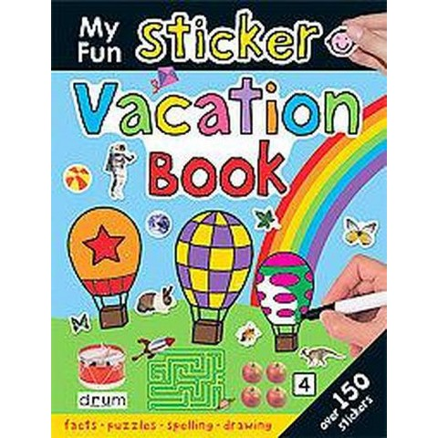 My Fun Sticker Vacation Book (Paperback)