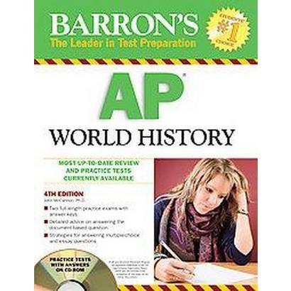 Barron's AP World History (Mixed media product)