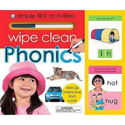 Simple First Activities Wipe Clean Phonics (Mixed media product)