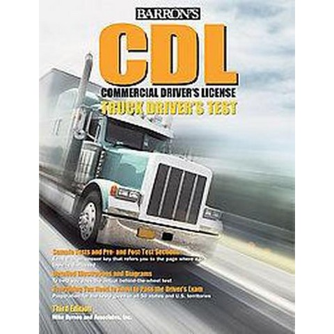 Barron's CDL Commercial Driver's Test (Revised) (Paperback)