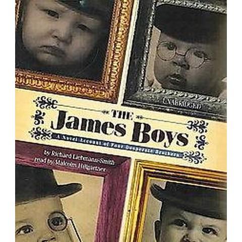 The James Boys (Unabridged) (Compact Disc)
