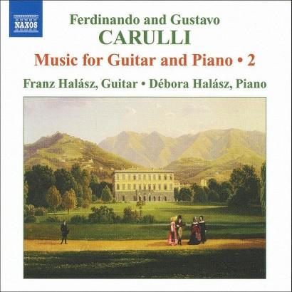 Ferdinando and Gustavo Carulli: Music for Guitar and Piano, Vol. 2