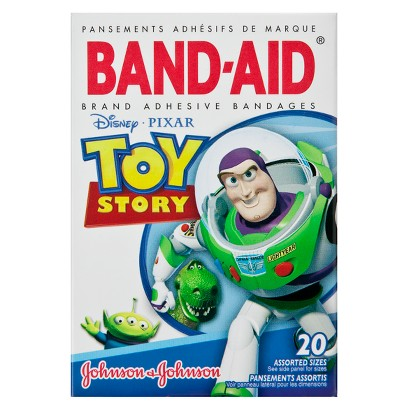Band-Aid Toy Story Brand Adhesive Bandages - 20 Count
