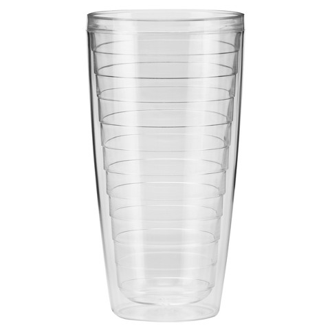 Insulated Tumbler Set of 4 - Clear (24 oz.)