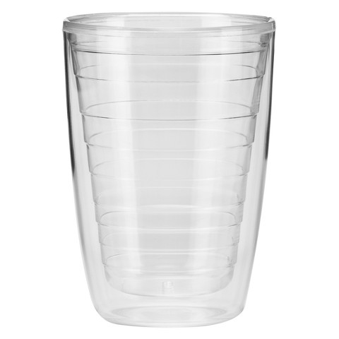 Insulated Tumbler Set of 4 - Clear (16 oz.)