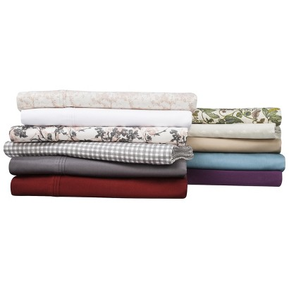 Threshold™ 325 Thread Count Organic Cotton Sheet Set and Pillowcase Set Collection