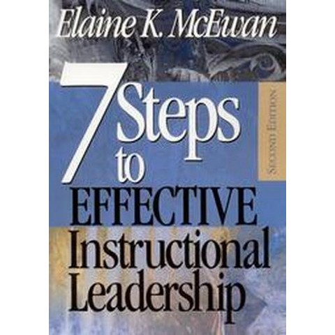 7 Steps to Effective Instructional Leadership (Paperback)