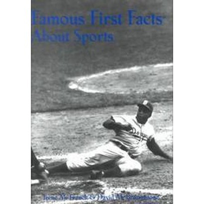 Famous First Facts About Sports (Hardcover)