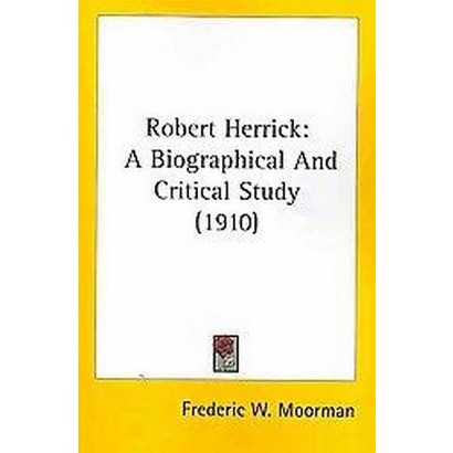 Robert Herrick (Paperback)