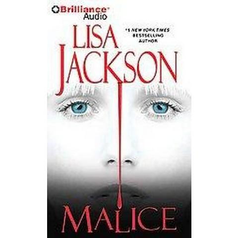 Malice (Abridged) (Compact Disc)