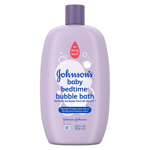 Johnson's Baby Bedtime Bubble Bath and Wash - 28 oz.