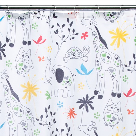 Zoological Shower Curtain