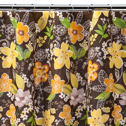 Cayman Floral Shower Curtain