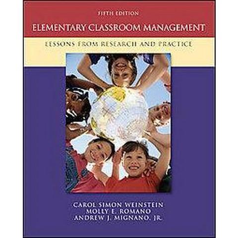 Elementary Classroom Management (Paperback)