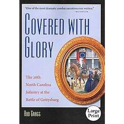 Covered With Glory (Large Print) (Paperback)