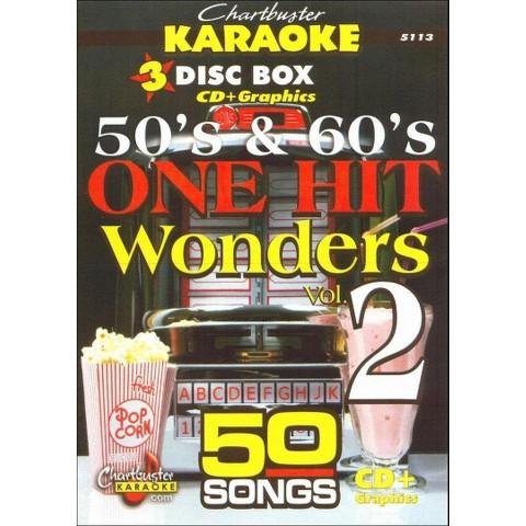 Karaoke: 50's and 60's One Hit Wonders, Vol. 2 (3 Discs)