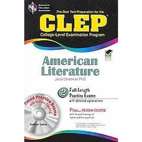 The Best Test Preparation for the CLEP American Literature (Mixed media product)