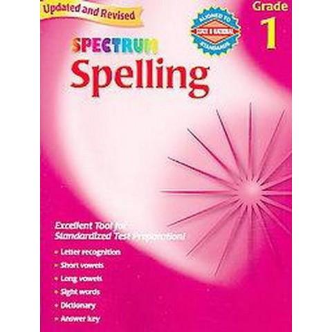 Spectrum Spelling, Grade 1 (Paperback)