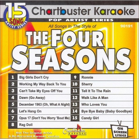 Chartbuster Karaoke: Four Seasons