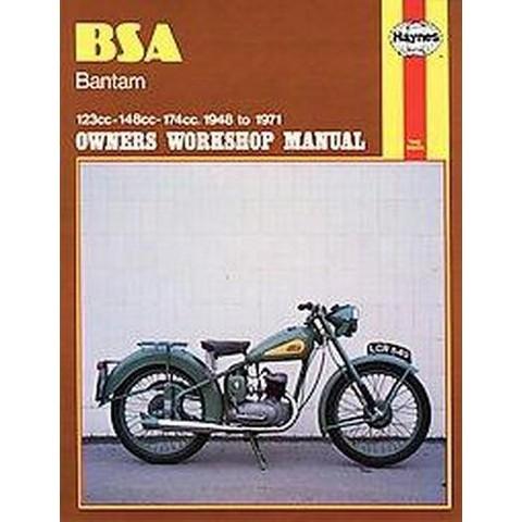 Bsa Bantam Owners Workshop Manual (Paperback)