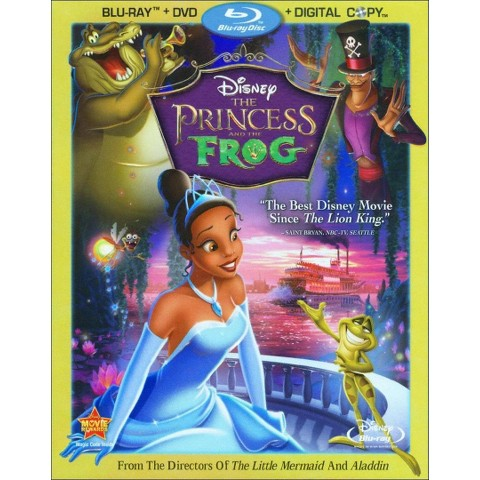 The Princess and the Frog (3 Discs) (Includes Digital Copy) (Blu-ray/DVD) (W) (Widescreen)