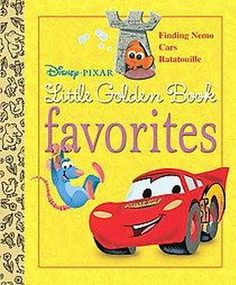 Disney-Pixar Little Golden Book Favorites : Finding Nemo, Cars, Ratatouille (Hardcover)