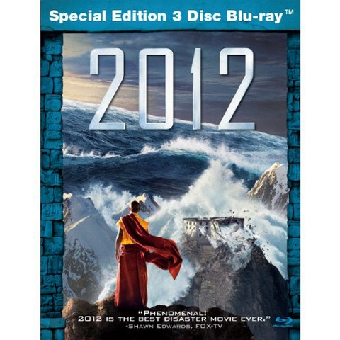 2012 Special Edition 3 Disc Blu-Ray - Only at Target