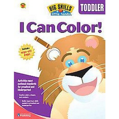 Big Skills for Little Hands I Can Color (Paperback)