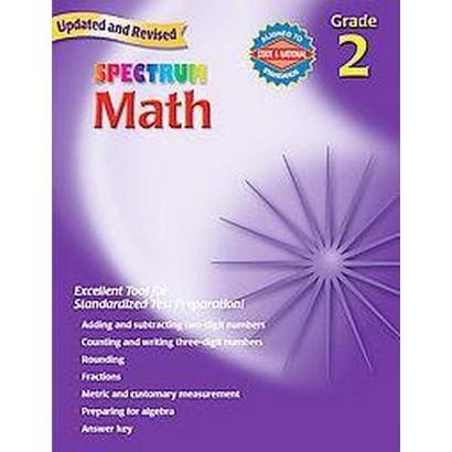 Spectrum Math, Grade 2 (Paperback)