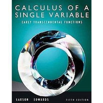 Calculus of a Single Variable (Hardcover)