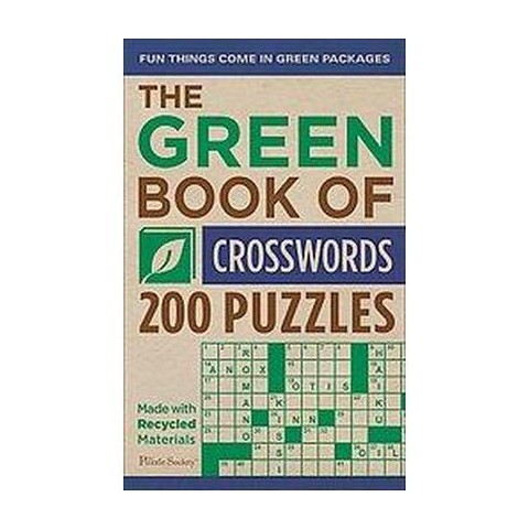 The Green Book of Crosswords (Paperback)