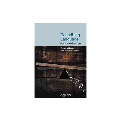Describing Language (Paperback)