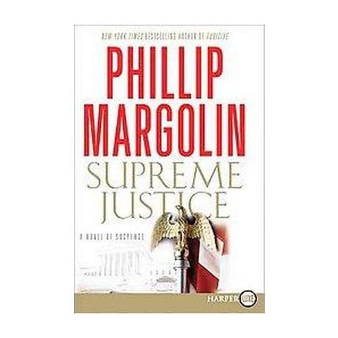 Supreme Justice (Large Print) (Paperback)
