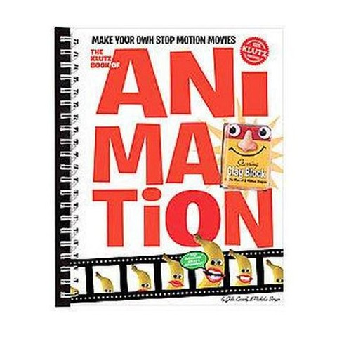 The Klutz Book of Animation (Spiral)