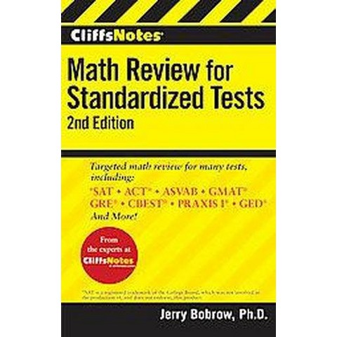 CliffsNotes Math Review for Standardized (Paperback)