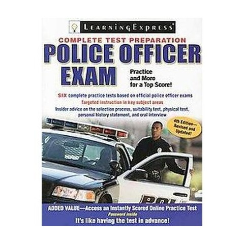Police Officer Exam (Mixed media product)