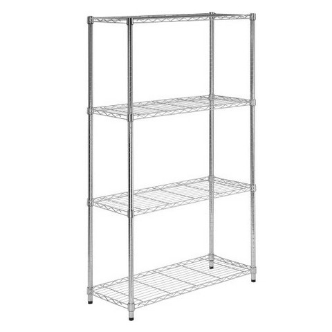 4 Tier Wire Shelves